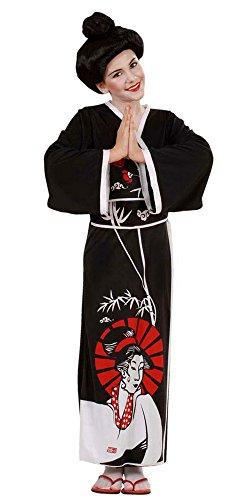 Widmann 57367 Erwachsenenkostüm Geisha, (Geisha Ideen Mädchen Kostüm)