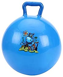 Tickles Blue Jumping Ball Inflatable Space Hopper Stuffed Soft Plush Toy Love Girl 40 Cm