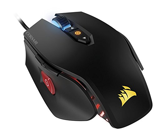 Corsair Gaming M65 Pro RGB FPS Gaming USB Optical 12000dpi Right Hand Black – Mouse (Right Hand, Optical, USB, 12000 DPI, 135.5 G, Black)