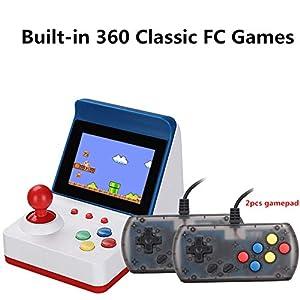 Mini 360In1 Handheld-Spielkonsole Linux3.0 CPU Retro Game Player-Unterstützung Doppel-Player TV-Ausgang Mit Doppel Gamepad