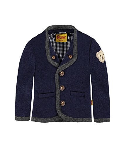 Steiff Collection Jungen Jacke Jacke, Gr. 80, Blau (twilight blue 3330)