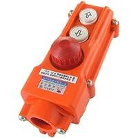 Interruptor de botón impermeable polipasto grúa hacia arriba y abajo advpro parada de emergencia 250 V 5 500 V 2 A