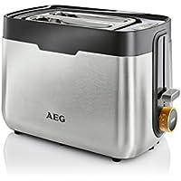 AEG AT5300 - Tostador (27 cm, 17 cm, 19 cm) Acero inoxidable