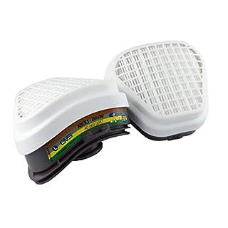 Elipse SPR492 Universel paires de filtres de remplacement, ABEKS1P3, gris/blanc
