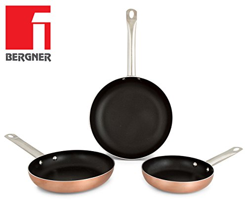 Bergner Professional Chef Copper Sartenes