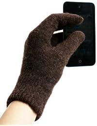 System-S Handschuhe für Touchscreen Geräte Smartphone Handy, Tablet, PC, Phablet, Spezialhandschuhe für iPod Touch, iPhone, iPad für Android für Samsung S2, S3, S4, S5