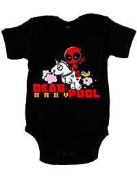 Body bebé Dead Pool unicornio