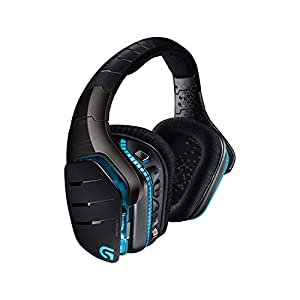 Logitech G933 Artemis Spectrum Wireless Gaming-Headset, 7.1 Surround Sound, 40mm Pro-G Treiber, 2.4 GHz, 3,5mm Eingang, RGB-Beleuchtung, G-Tasten, PC/Mac/Xbox One/PS4/Nintendo Switch – schwarz