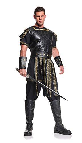 KULTFAKTOR GmbH Römischer Krieger Antike Kostüm braun-Gold M / - Krieger Kostüm Maske