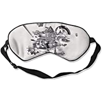 Sleep Eye Mask Abstract Geometry Lightweight Soft Blindfold Adjustable Head Strap Eyeshade Travel Eyepatch preisvergleich bei billige-tabletten.eu