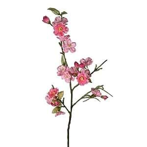 D coration branche cerisier japonais 70 cm rose fleurs artificielles artificiel fleurs fleurs - Branche de cerisier japonais ...