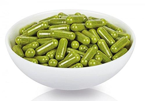 100% Natur, Bio und vegan, Verarbeitung in Deutschland, 250 Stck. Kapseln, die Königin der Superfoods, vitaminreichste nährstoffreichste Pflanze der WELT!