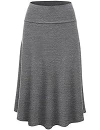 5fc59bd46 Amazon.es: faldas tallas grandes - Mujer: Ropa