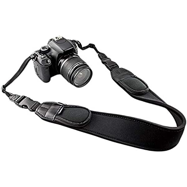 Jjc Ns Q2 Neopren Kameragurt Mit Rv Taschen 142 Cm Kamera
