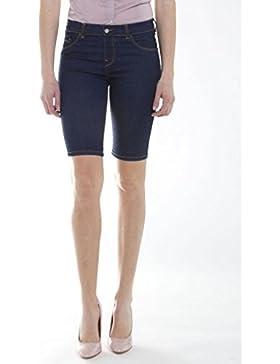 Carrera Jeans - Bermuda jeans 767 per donna, tessuto elasticizzato, vestibilità skinny, vita regular