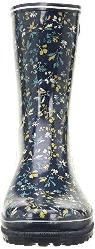 Aigle Venise Bottillon Print, Bottes de Pluie Femme Multicolore (Hashley)