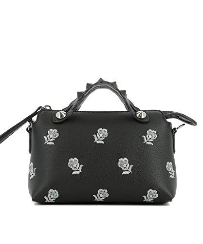 Fendi-Womens-8BL1359FYF0GXN-Black-Leather-Handbag
