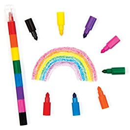 Baker Ross Set di Pastelli a Sorpresa Multicolore per Bambini – Idee Divertenti da Inserire in Buste Regalo alle Feste o come Regalini Premio per Bambini (Confezione da 4).