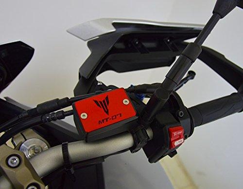 Copri tappo vaschetta olio freno per Yamaha MT-07 (rosso)