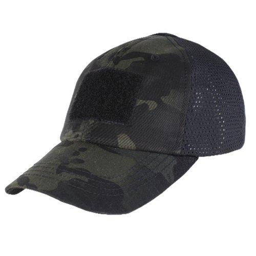 CONDOR TCM-021 Mesh Tactical Cap - MultiCam Black