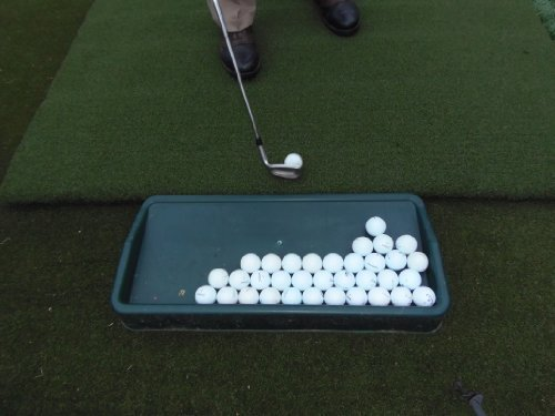 Country Club Elite? Golf Ball Tray by J.R. Mats Inc. (Jr Golf Clubs)