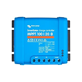 Victron SmartSolar MPPT Laderegler 100/20 12V 24V 20A Solarladeregler Bluetooth integriert