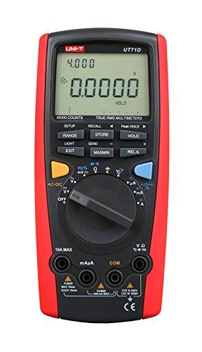 Uni-T UT71D Multimeter, Effektivwert, automatische Datenspeicherung, AC/DC Volt Ohm, Kapazitäts-Tester