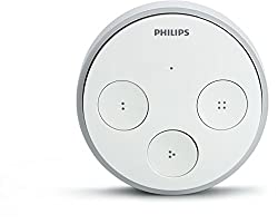 Philips Hue Personal Wireless Lighting Tap Smart Switch, Synthetics, White