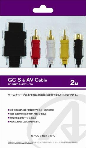 SFC・N64・GC用接続ケーブル『S&AVケーブル 2M』 (Amp Av)