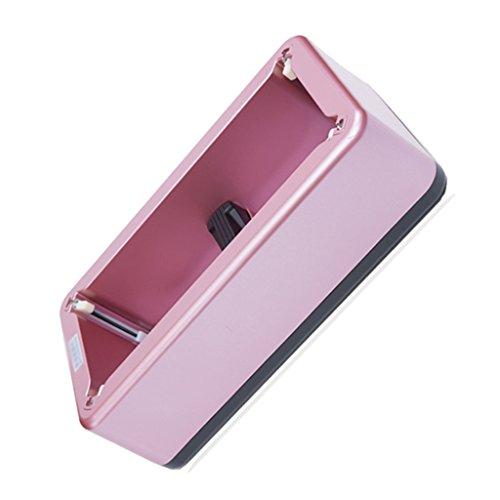 Galoschen Automatische Schuhabdeckungsmaschine Haushalt Wegwerffußabdeckungsmaschine Schön und tragbar Umweltfreundlich 16 * 8 * 5 Zoll Schuhzubehör & Pflege (Color : Pink)