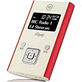 View Quest Blighty DAB+/FM Portable Radio - Red