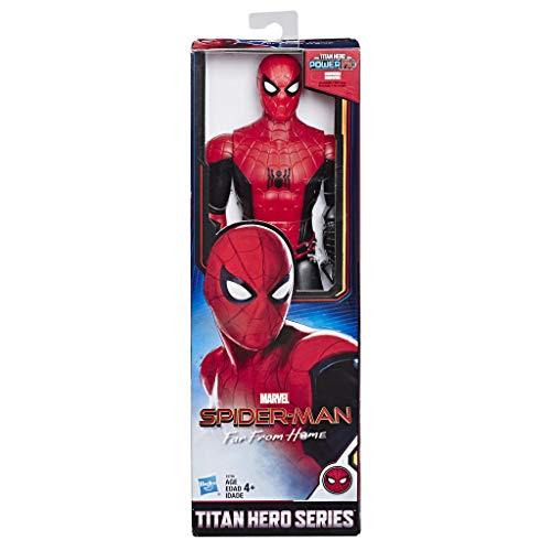Spider-Man: Far From Home - Titan Hero Power FX, Personaggio 30 cm Ispirato al Film, Power FX non Incluso