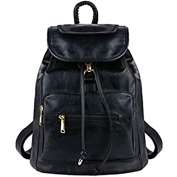 0748bbde7b Coofit Cartable college femme sac à dos scolaire femme Sacs portés dos femme  en cuir sac à dos randonnée femme