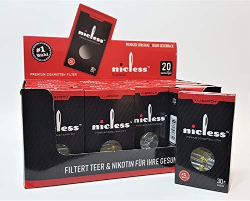 rettenfilter für Raucher - Packung (600 Stück) ()