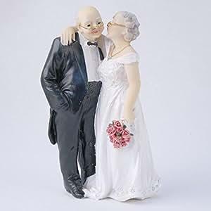 Couple de vieux mariés