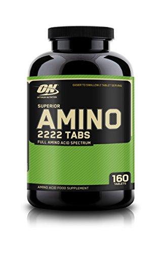 Optimum Nutrition SUPERIOR AMINO 2222, 160 Tabletten (Amino Tabletten 2222)