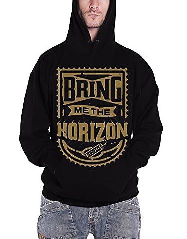 Bring Me The Horizon Sweat-shirt à capuche Dynamite Badge Logo officiel Homme