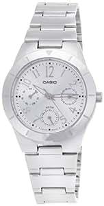Casio Enticer Silver Dial Women's Watch - LTP-2069D-7A2VDF (A380)