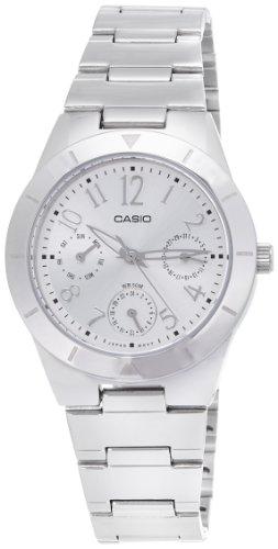41x5FN57cLL - Casio Enticer Silver Women LTP 2069D 7A2VDF A380 watch