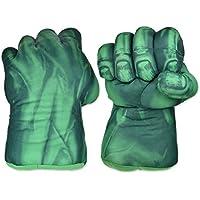 ds. distinctive style DSstyles Guantes de Boxeo 1 par de Guantes de puño 11 Pulgadas Guantes de Peluche Suave para los niños Guantes de Cosplay - Verde
