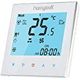 Homgeek Wifi Termostato Programable Inalámbrico del Aire Acondicionado Termostatos Digitales de Pared Programador Semanal
