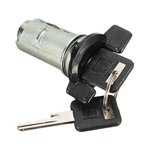 YSHtanj Zündschalter, Auto-Innenraumteilschalter, Zündschalter, Zylinderschloss mit 2 Schlüsseln für Chevy -