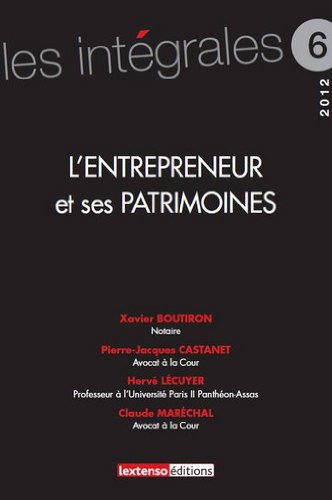 L'entrepreneur et ses patrimoines