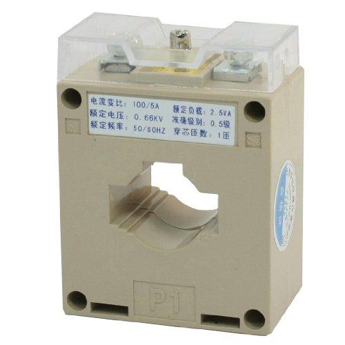 sourcingmap® BH-0,66-CT Typ 0.66KV 50-60Hz 1T 100/5A CT Stromwandler