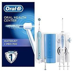 Oral-B WaterJet Munddusche und Oral-B PRO 700 elektrische wiederaufladbare Zahnbürste
