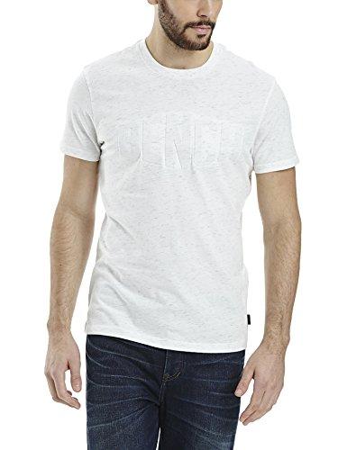 Bench Herren T-Shirt Abridge Weiß (White WH001)