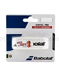 Babolat Base Mango banda Syntec Pro, color blanco, One size, 670051–101
