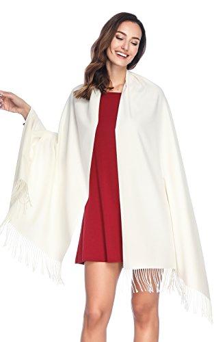 Stil Wolle Schal (HOYAYO Einfarbiger Kaschmir schal für Frauen,Damen Umschlagtuch Pashmina Schal Tuch Stola)