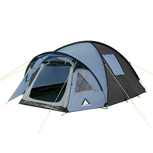 10T Zelt Glenhill Arona 3 Mann Kuppelzelt FULL-XXL Schlafkabine wasserdichtes 5000mm Campingzelt