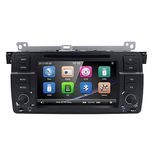 for BMW 3 Series E46 / M3 BMW 318 / 320 / 325 / 330 / 335 / M3 (1998-2006) Vehicle Wince 6.0 Single Din 7 inch In Dash Multimedia - Car Radio Touchscreen Kit